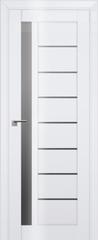 Межкомнатная дверь Межкомнатная дверь Profil Doors 37L Белый люкс ДО, графит