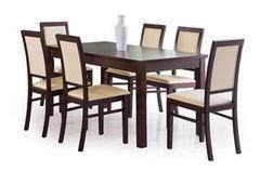 Обеденный стол Обеденный стол Halmar Ernest 120 (темный орех)