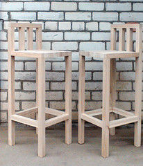 Барный стул Барный стул Драўляная майстэрня Из массива дуба 2