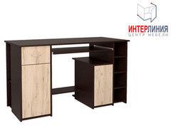Письменный стол Интерлиния СК-006 Дуб венге+Дуб серый