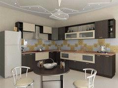 Кухня Кухня Алфексгрупп №37 (Плёночный МДФ)