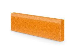 Резиновая плитка Rubtex Бордюр 1000x260 (охра)