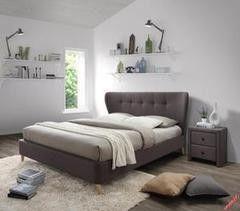 Кровать Кровать Halmar Viena коричневый бук