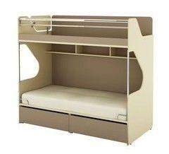 Двухъярусная кровать SoftForm Силуэт изд.001