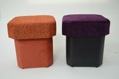 Пуфик Пуфик Вливск-Мебель 35х35х42 см с емкостью для хранения 18
