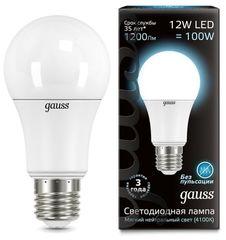 Лампа Лампа Gauss 102502212, E27, G60, 12Вт