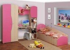 Детская комната Детская комната Олмеко Тони розовый