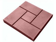 Тротуарная плитка Тротуарная плитка Завод тротуарной плитки Калифорния 300*300*30 (красная)