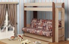 Двухъярусная кровать Олмеко Немо архитектура (без верхнего матраса)