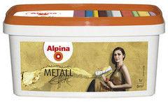Краска Краска Alpina Metall Effekt Серебро (1л)