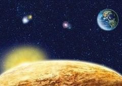 Фотообои Фотообои Твоя планета Космос