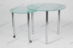 Обеденный стол Обеденный стол Стеклолюкс С 1-01 Трансформер