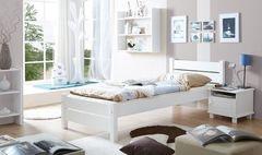 Детская кровать Детская кровать Kinderwood Бора (белый)