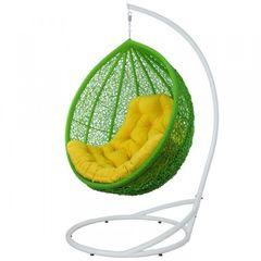 Кресло из ротанга Садовый дворик Веста салатовый