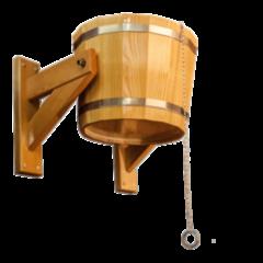 Аксессуар для бани noname Обливное устройство из лиственницы (10л)