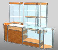 Торговая мебель Торговая мебель ВФТ Вариант 17