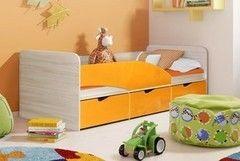 Детская кровать Детская кровать Квартет Бриз 3 (163x85x85)