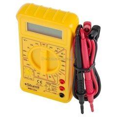 Sturm MM1204 Мультиметр Sturm изм: напряжение, ток, сопротивление; питание 2*1,5V