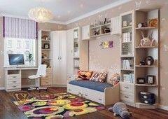 Детская комната Детская комната SV-Мебель Вега 0080 (сосна карелия)