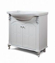 Мебель для ванной комнаты Калинковичский мебельный комбинат Тумба Версаль 850 КМК 0454.1 (белый)