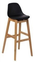 Барный стул Барный стул Atreve Fiord (черн./бук)