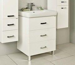 Мебель для ванной комнаты Акватон Тумба Америна 60 М (1A168901AM010) белая