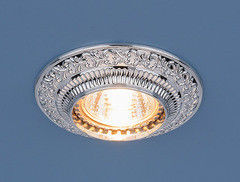 Встраиваемый светильник Elektrostandard 4103 хром (CH)