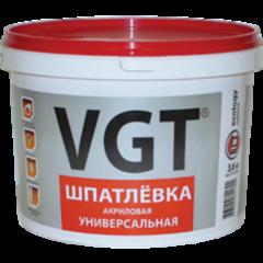 Шпатлевка Шпатлевка ВГТ Универсальная для наружных и внутренних работ 1 кг