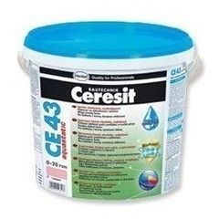 Фуга Ceresit CE 43 aquastatic universal серая №07 (5 кг)