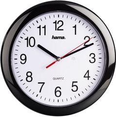 Часы Часы HAMA Настенные часы  Hama PP-250 черный [00113920]
