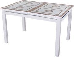 Обеденный стол Обеденный стол Домотека Вальс (СТ-71/ белый/08) 70x110(147)x75