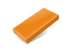 "Резиновая плитка Rubtex Брусчатка ""Кирпич"" 200x100 (толщина 20 мм, охра)"