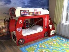 Двухъярусная кровать СлавМебель Автобус №2