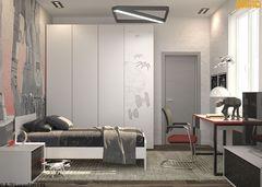 Детская комната Детская комната Inrervera art Пример 63