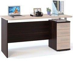 Письменный стол Сокол-Мебель КСТ-105.1 венге/беленый дуб