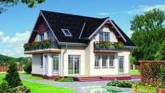 Строительство из газосиликатных блоков LIGHT HOUSE Проект дома 103