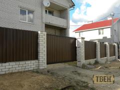 Твен Ворота и забор СМ-07
