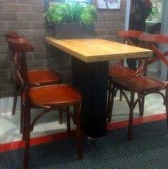 Мебель для баров, кафе и ресторанов Восток-СВ Пример 4 (стол для кафе, баров)