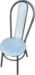 Кухонный стул Алвест Премьер мрамор/серебро
