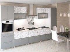 Кухня Кухня Интерлиния Metrio Пример 1 артграфит + графит
