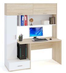 Письменный стол Сокол-Мебель КСТ-17 (дуб сонома/белый)