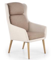 Кресло Halmar Purio (бежевый/коричневый)