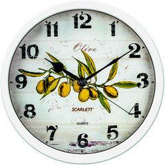 Часы Часы Scarlett Настенные часы Scarlett SC-WC1005K