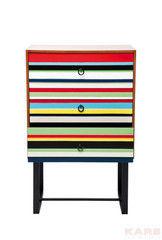 Туалетный столик Kare Dresser Stripes Colore 3Drw 78243