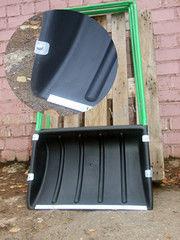 Посадочный инструмент, садовый инвентарь, инструменты для обработки почвы БелБиоХаус Движок для снега (скрепер) пластиковый 610х410