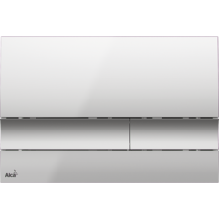 AlcaPlast Кнопка управления М1722 (хром матовый)