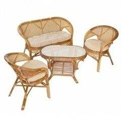 Комплект мебели из ротанга Nadinus (Индонезия) Радуга (набор)