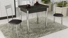Обеденный стол Обеденный стол ТриЯ Лион с хромированными ножками