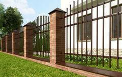 Забор Забор МСК Инвест Арт-полимер тип 4