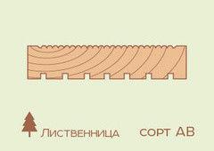 Террасная доска Лиственница 40*140, сорт АВ